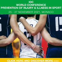 IOC world conference prevention of injury & illness in sport